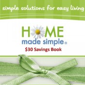 $30 Savings Coupon Book *Back Again*