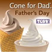 TCBY Cone for Dad