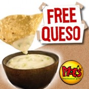 Moes + July 21 = Free Queso
