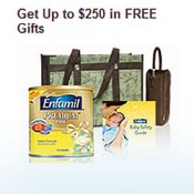 Get over $250 in Enfamil Products FREE