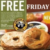 Get a free Bagel on Friday