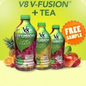 V8 is offering New Samples of V8 Fusion Tea