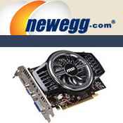 1GB MSI GeForce Video Card @ Newegg.com $59.99 after rebate